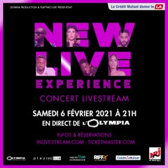 NEW LIVE EXPERIENCE - live stream le 6 février !
