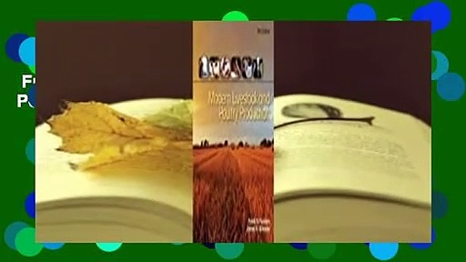 Full version  Modern Livestock & Poultry Production  For Online
