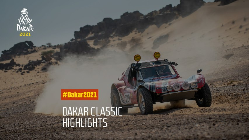 #Dakar2021 - Dakar Classic Highlights