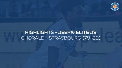 2020/21 Highlights Chorale - Strasbourg (78-82, JE J9)