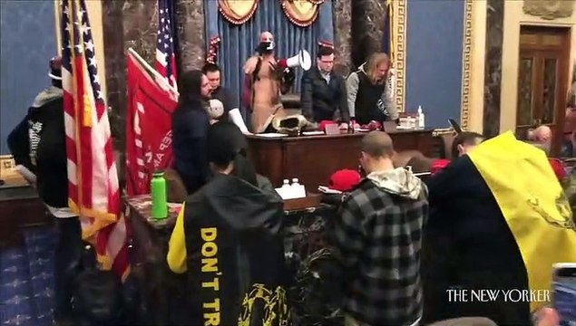 New video shows the new speaker of the Capitol