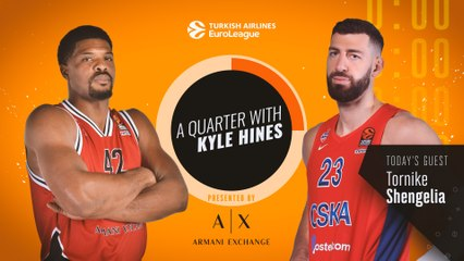 A Quarter with Kyle Hines and Toko Shengelia!