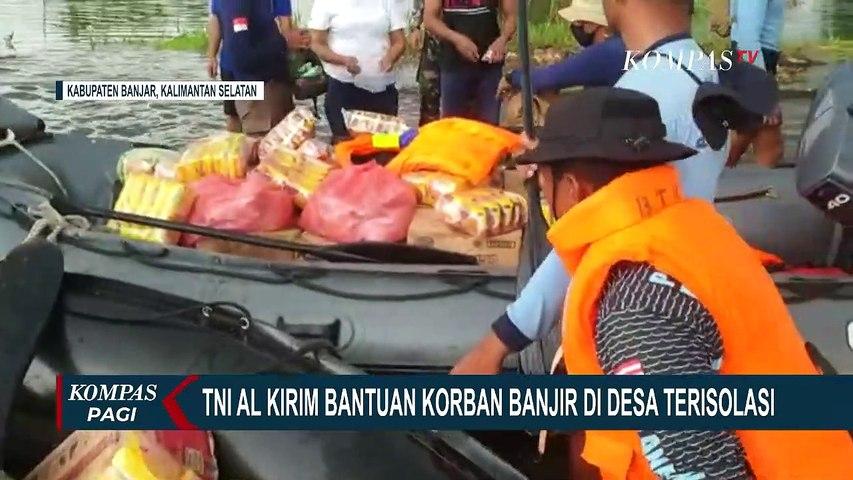 Hari Kelima Banjir Banjarmasin, Tim SAR Evakuasi Korban Banjir yang Terisolasi