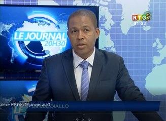 Le JT du  18/01/2021 de la RTG Koloma