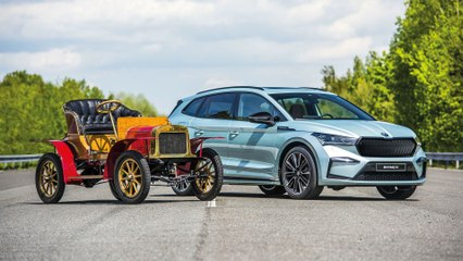 Elektro-SUV Eniaq (2020) zum Firmenjubiläum: So stellt sich Skoda die  Zukunft vor
