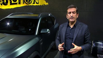 Dacia Bigster Concept présenté par Alejandro Mesonero