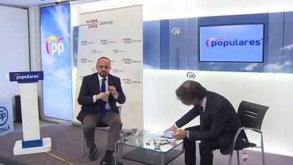 Encuentro Digital con el candidato del PP a las elecciones catalanas