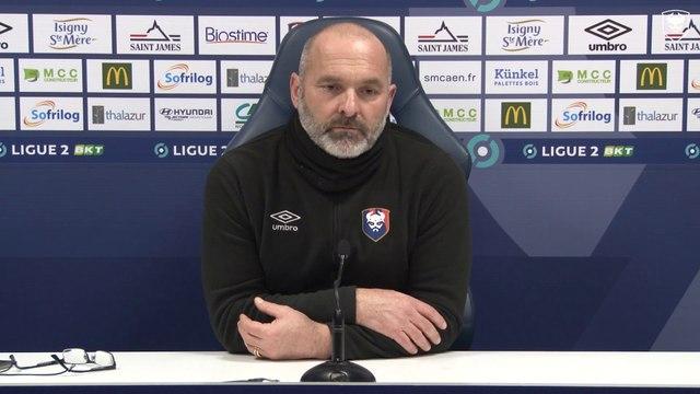 8ème tour de Coupe de France : La conférence de presse avant EA Guingamp / SMCaen