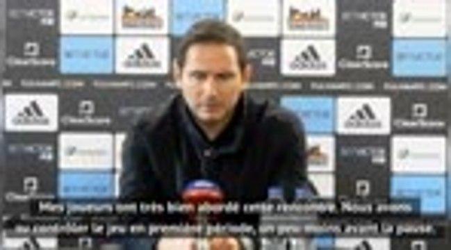 """19e j. - Lampard : """"C'était important de gagner ce match"""""""
