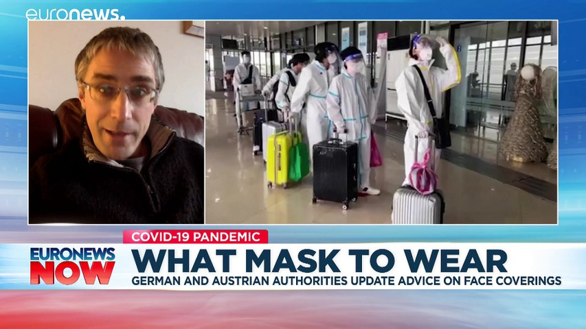Face masks: What's the difference between a cloth one and an FFP2?
