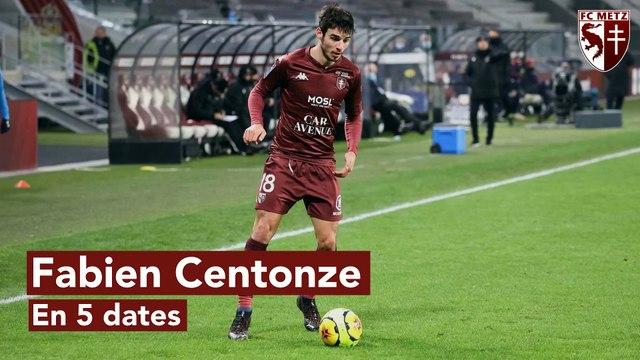 Fabien Centonze en 5 dates !