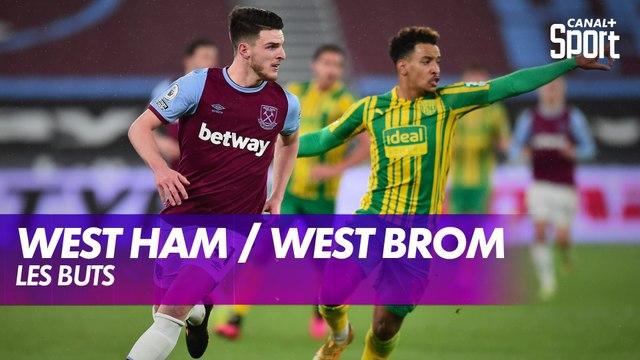 Les buts de West Ham / West Bromwich