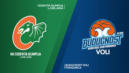 7Days EuroCup Highlights Top 16, Round 2: Olimpija 74-71 Buducnost