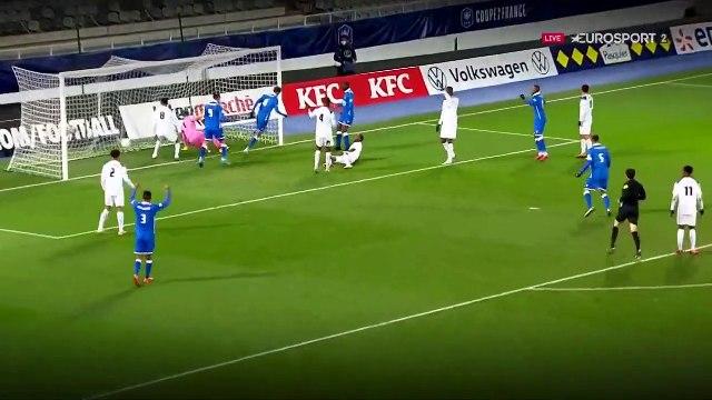 Une tête de Bellugou et Auxerre rallie les 32es : le résumé du match