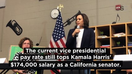 How Much Kamala Harris Will Earn as the First Female Vice President