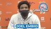 Joel Embiid Postgame Interview   Celtics vs 76ers Game 2