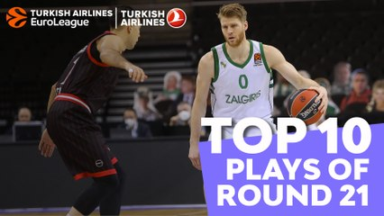 Regular Season, Round 21: Top 10 plays