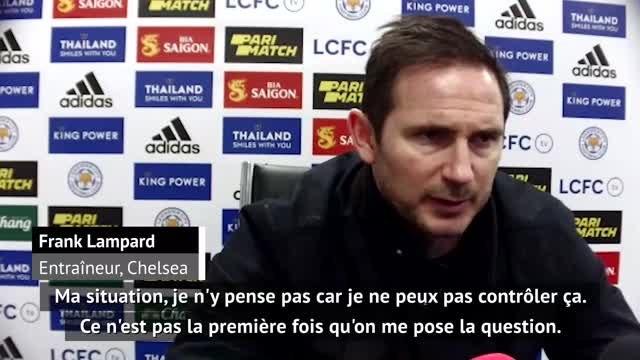 """18ème j. - Lampard : """"Tout était rose en décembre, ce n'est plus le cas"""""""
