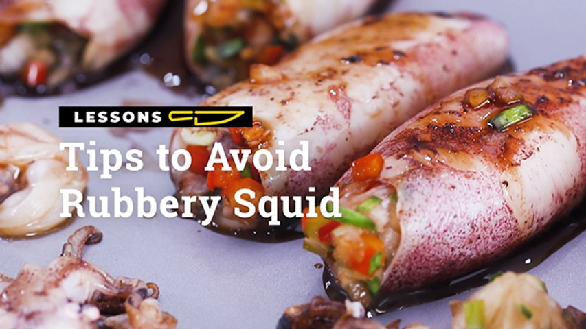 Tips To Avoid Rubbery Squid   Yummy PH