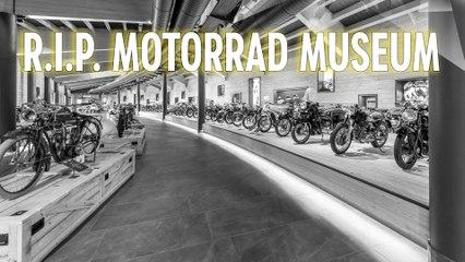 R.I.P. Mountain Crosspoint Motorrad Museum - Hunderte Raritäten auf 2200 Metern Höhe
