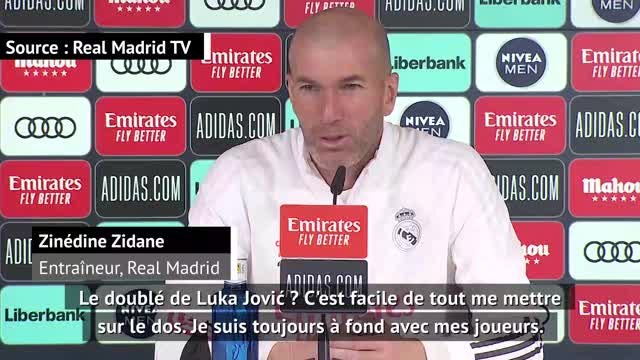 """Real Madrid - Zidane sur Luka Jovi? : """"C'est facile de tout me mettre sur le dos"""""""