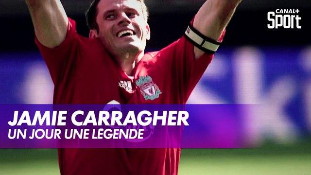 """""""Un jour une légende"""" : Jamie Carragher"""