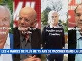 À la UNE : l'école Notre-Dame ferme pour une semaine / Les 4 maires de plus de 75 ans se font vacciner / la gauche stéphanoise demande la réouverture des lieux culturels / Que font nos députés ? - Le JT - TL7, Télévision loire 7
