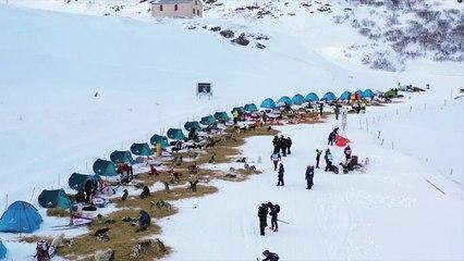 La Grande Odyssée Savoie Mont-Blanc - Les belles images de l'Etape 10b – Mercredi 20 janvier –Lac du Mont Cenis - Val Cenis