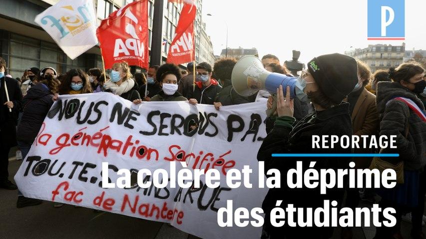 Manifestation des étudiants: « On est les oubliés du gouvernement ! »