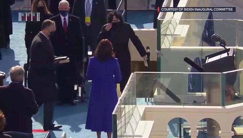 Kamala Harris inaugurated as 49th US Vice President
