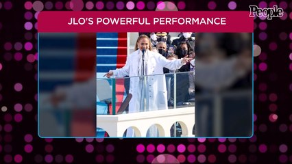 Jennifer Lopez Performs Powerful Patriotic Medley as She Speaks Spanish at Biden Inauguration