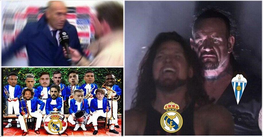 Los memes se desataron tras la eliminación de Real Madrid en la Copa del Rey