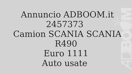 Camion SCANIA SCANIA R490