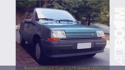 RENAULT Super 5 GTR Utilitaria