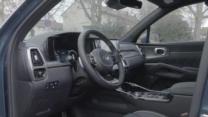 Der neue Kia Sorento - Ansprechende, hochwertige Kabine und fortschrittlicher Technik