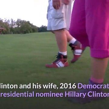 Was Bill Clinton 'nodding off' at Biden's inauguration Twitter users