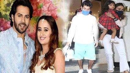 Varun Dhawan Natasha Dalal WEDDING SHOPPING VIRAL | Boldsky
