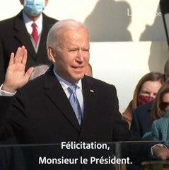 Retour sur la cérémonie d'investiture de Joe Biden.