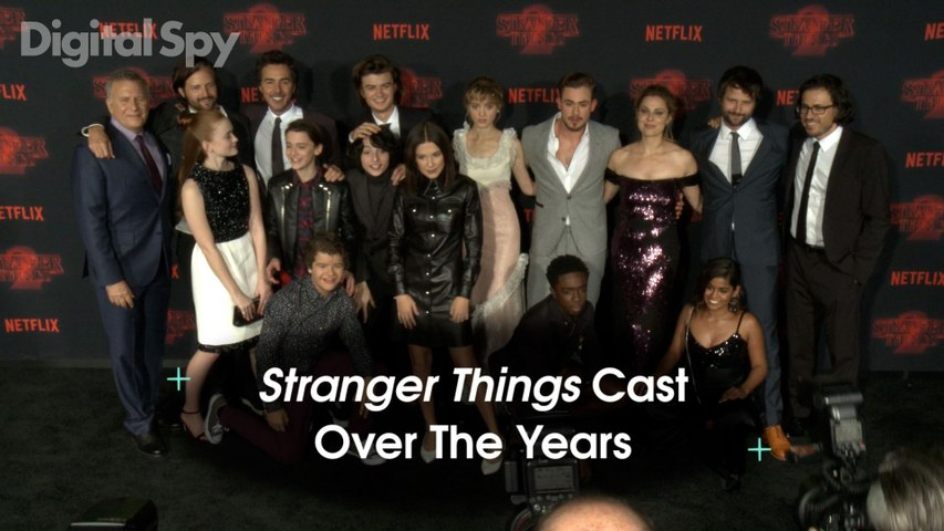 Stranger Things Cast Over The Years