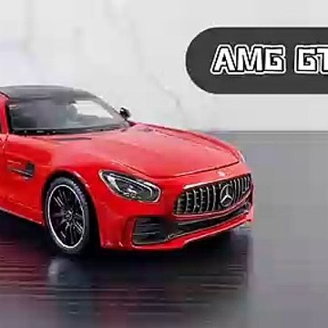 Welly 124 Mercedes AMG GTR Car Alloy Car Model❤❤