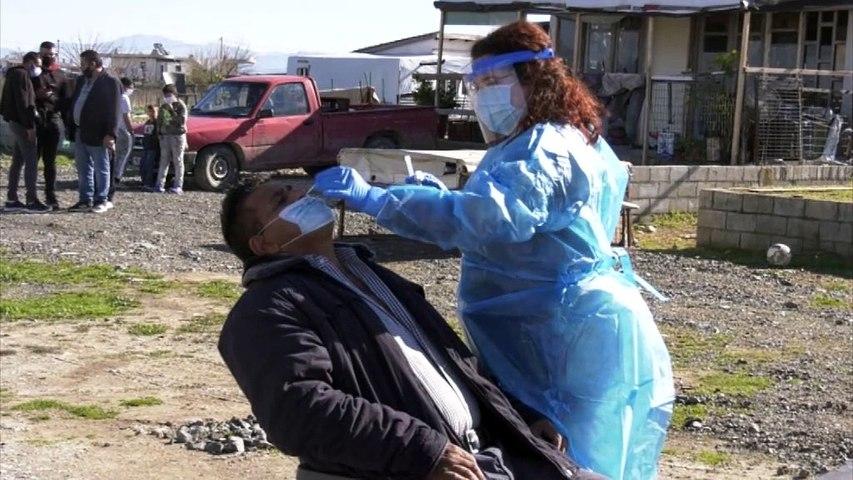 Τεστ Κορονοϊού στον οικισμό των Ρομά στην Ανθήλη
