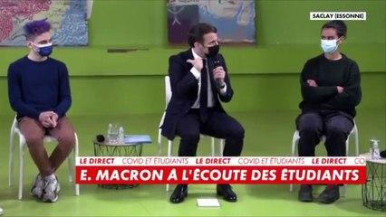 Coronavirus : Emmanuel Macron annonce des mesures pour les étudiants (vidéo)