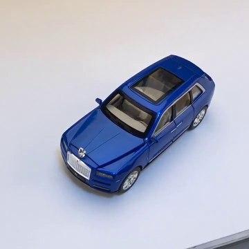 1:24 Rolls Royce Cullinan Alloy Car Model Large Size Simulation SUV ❤