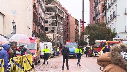 Aumentan a cuatro los fallecidos en la explosión de un edificio en Madrid