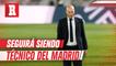 Zinedine Zidane seguirá siendo el técnico del Real Madrid