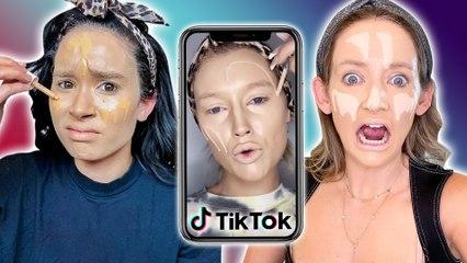 Trying TikToks CRAZY Foundation Hack?!* does it work *
