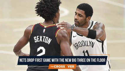 The Crossover: Nets Drop First Game With New Big 3
