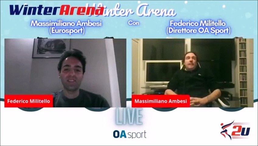 2021.01.21 - Winter Arena - Max Ambesi on Hanyu's invalidated CSSp in his JNats2021 SP