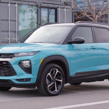 2021 Chevrolet Trailblazer RS Design Preview