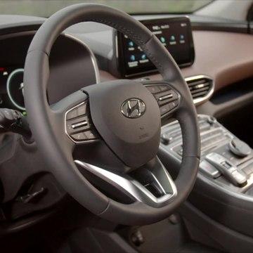 New Hyundai Santa Fe Interior Design